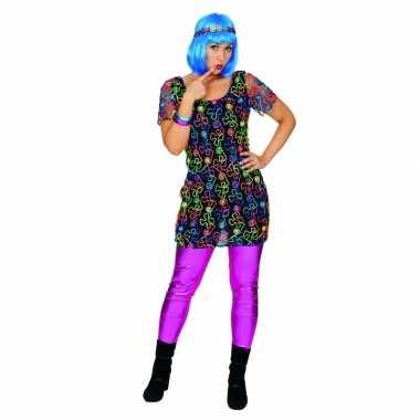 Grote maten hippie jurk dames 10080391
