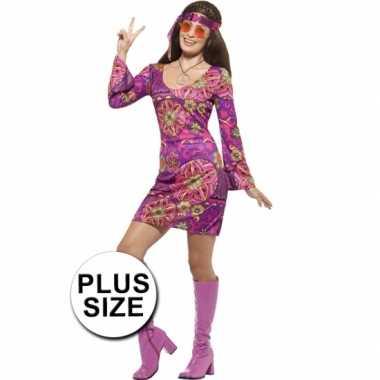 Grote maten hippie jurk dames