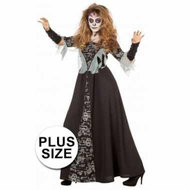 Halloween Kostuum Vrouw.Halloween Grote Maten Dames Kostuum Zombie