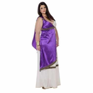Maten  Grote maat Romeinse jurk Livia